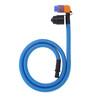 SOURCE Helix Tube Kit weave covered light blue